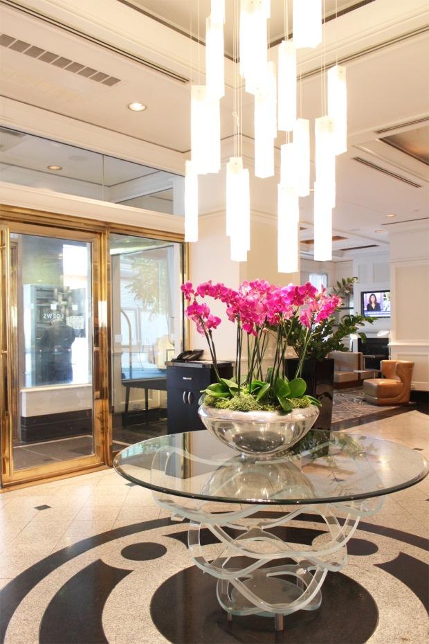 Loews Hotel Vogue Lobby 2