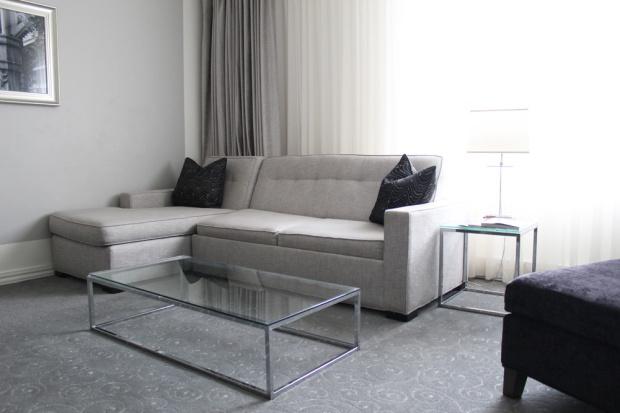 Loews Hotel Vogue Luxury King Suite 3