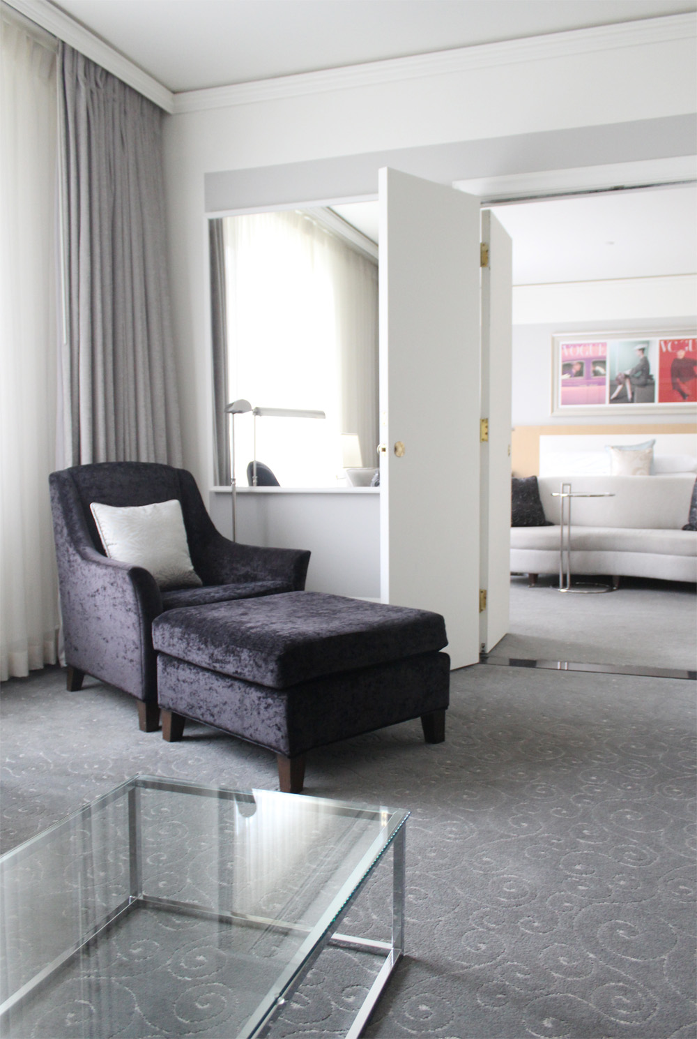 Loews Hotel Vogue Luxury King Suite 4