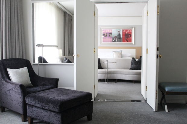 Loews Hotel Vogue Luxury King Suite 5