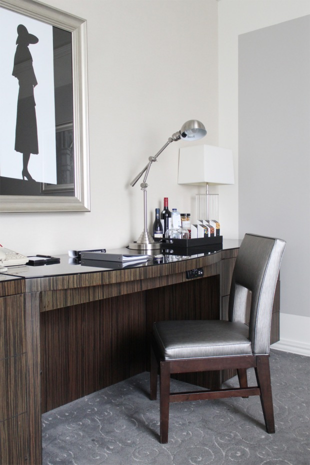 Loews Hotel Vogue Luxury King Suite 6