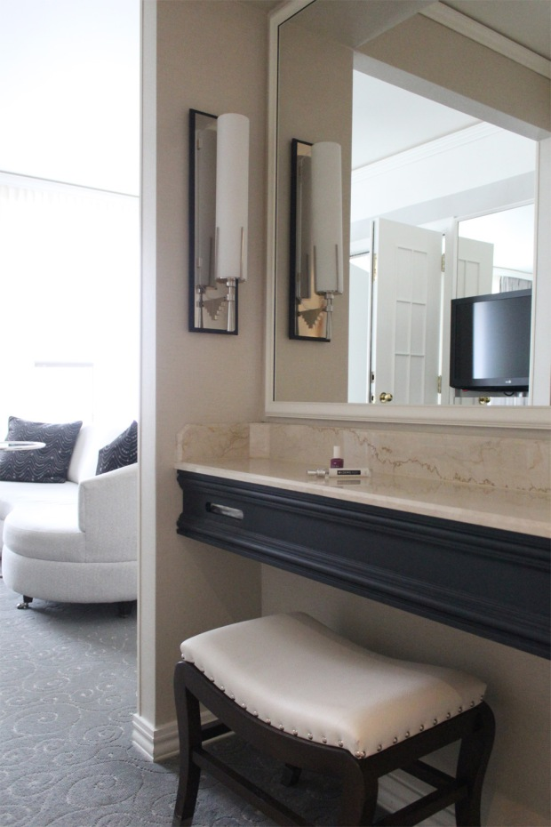 Loews Hotel Vogue Luxury King Suite 7