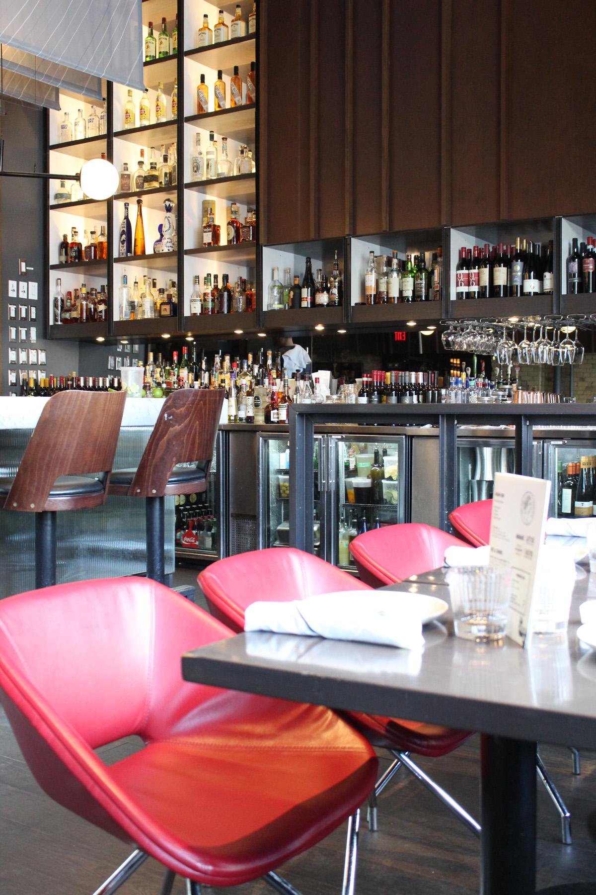 Bar at The Carbon Bar