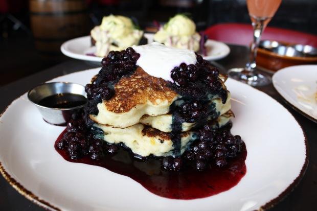 The Carbon Bar Buttermilk Pancakes