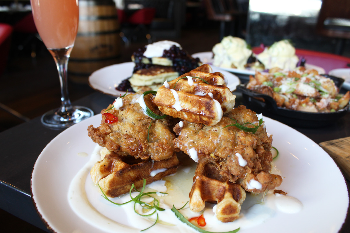 The Carbon Bar Chicken N Waffles