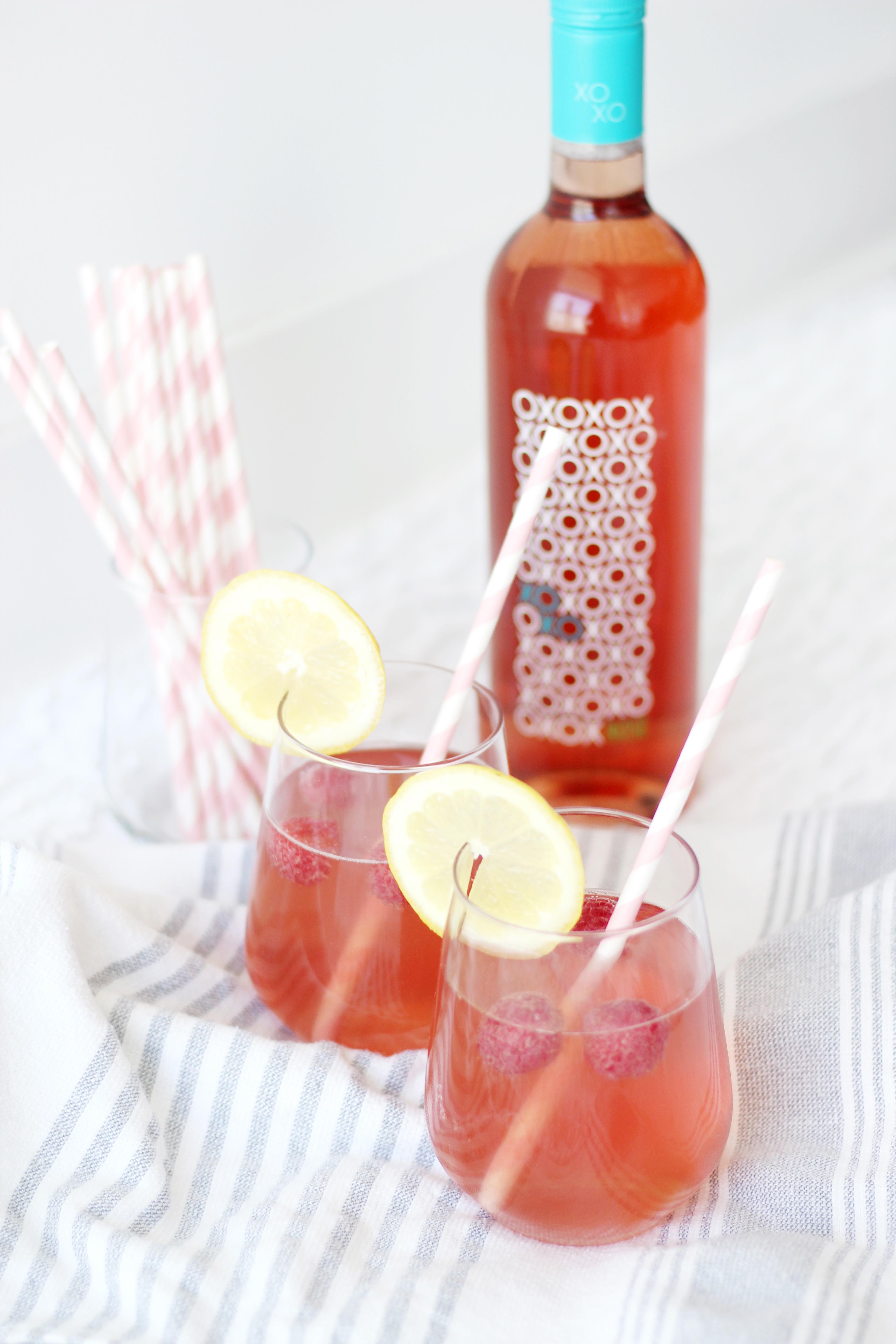 Raspberry Rose Lemonade 2