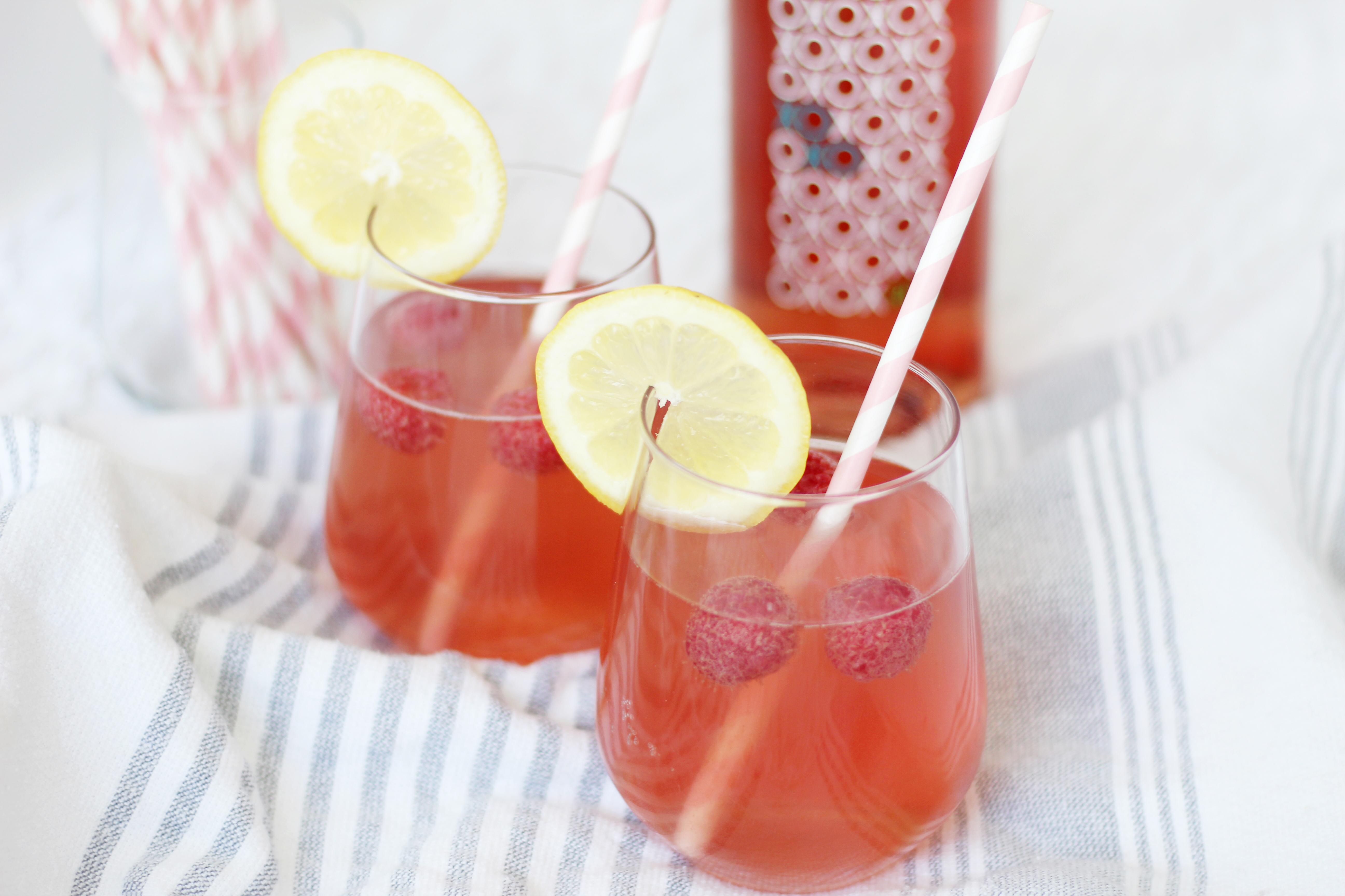 Raspberry Rose Lemonade 3