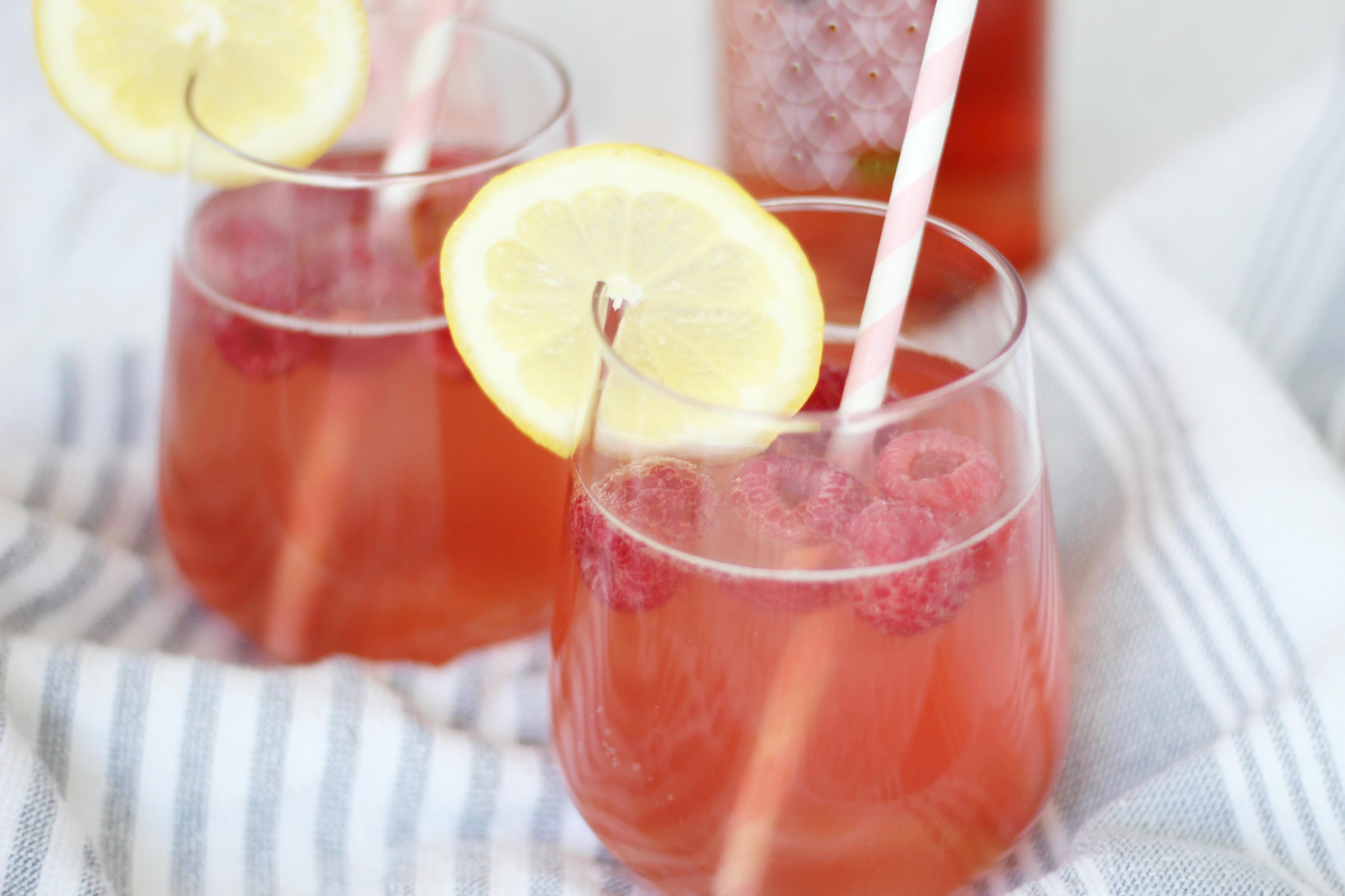 Raspberry Rose Lemonade 4