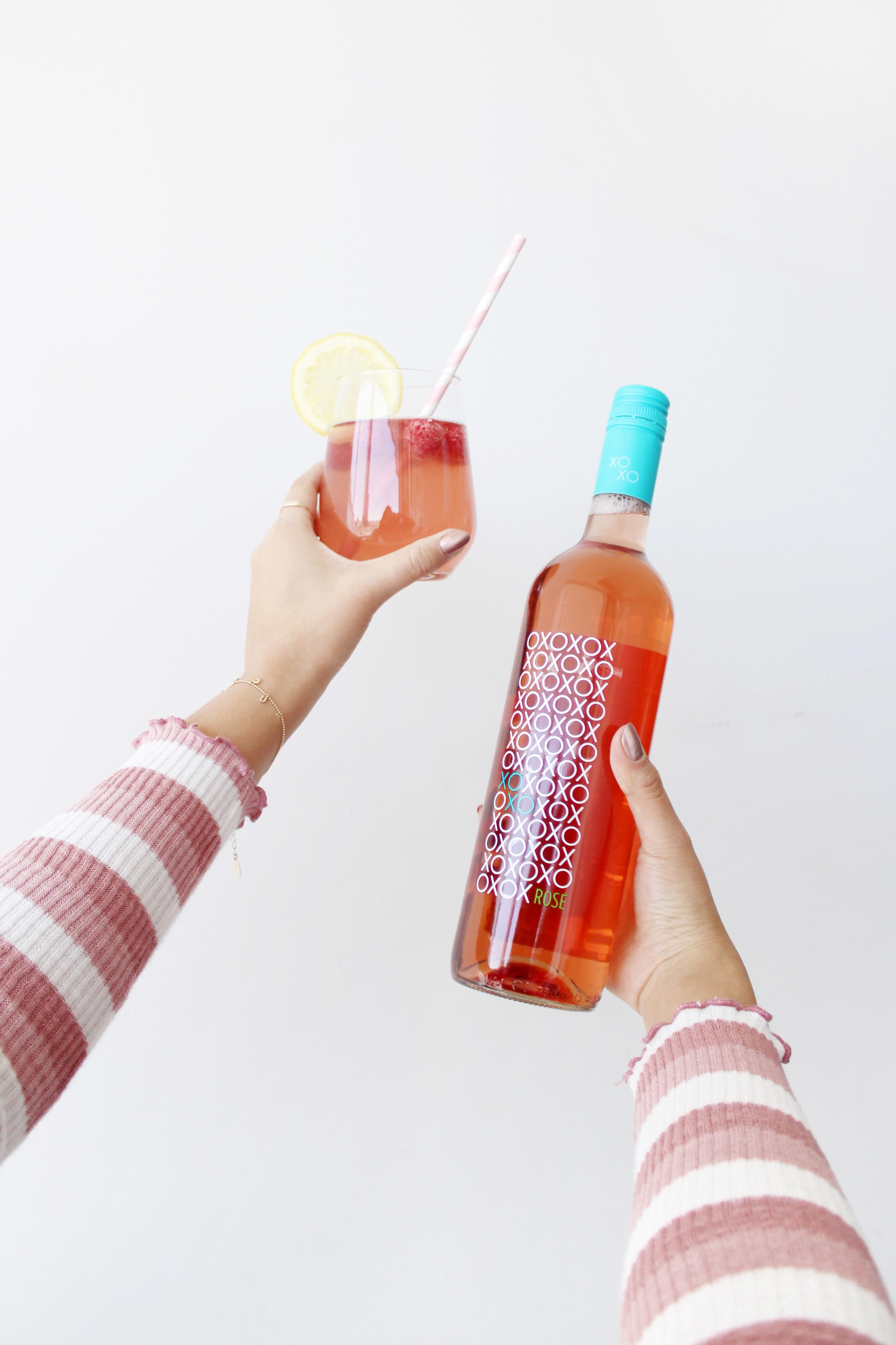 Raspberry Rose Lemonade