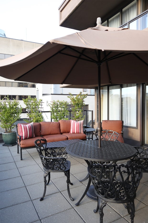 wedgewood hotel penthouse suite patio 3